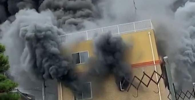 Japonya'da animasyon stüdyosunda yangın: 1 ölü, 35 yaralı