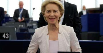 AB Komisyonu yeni başkanı Ursula von der Leyen oldu
