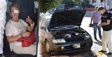 Mahmut'un arabası zannettiği başkasına ait aracı yaktı